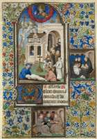 Book of hours: Burial