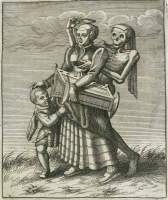 Merian 1621: Mother and child