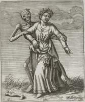 Merian 1649: Young woman