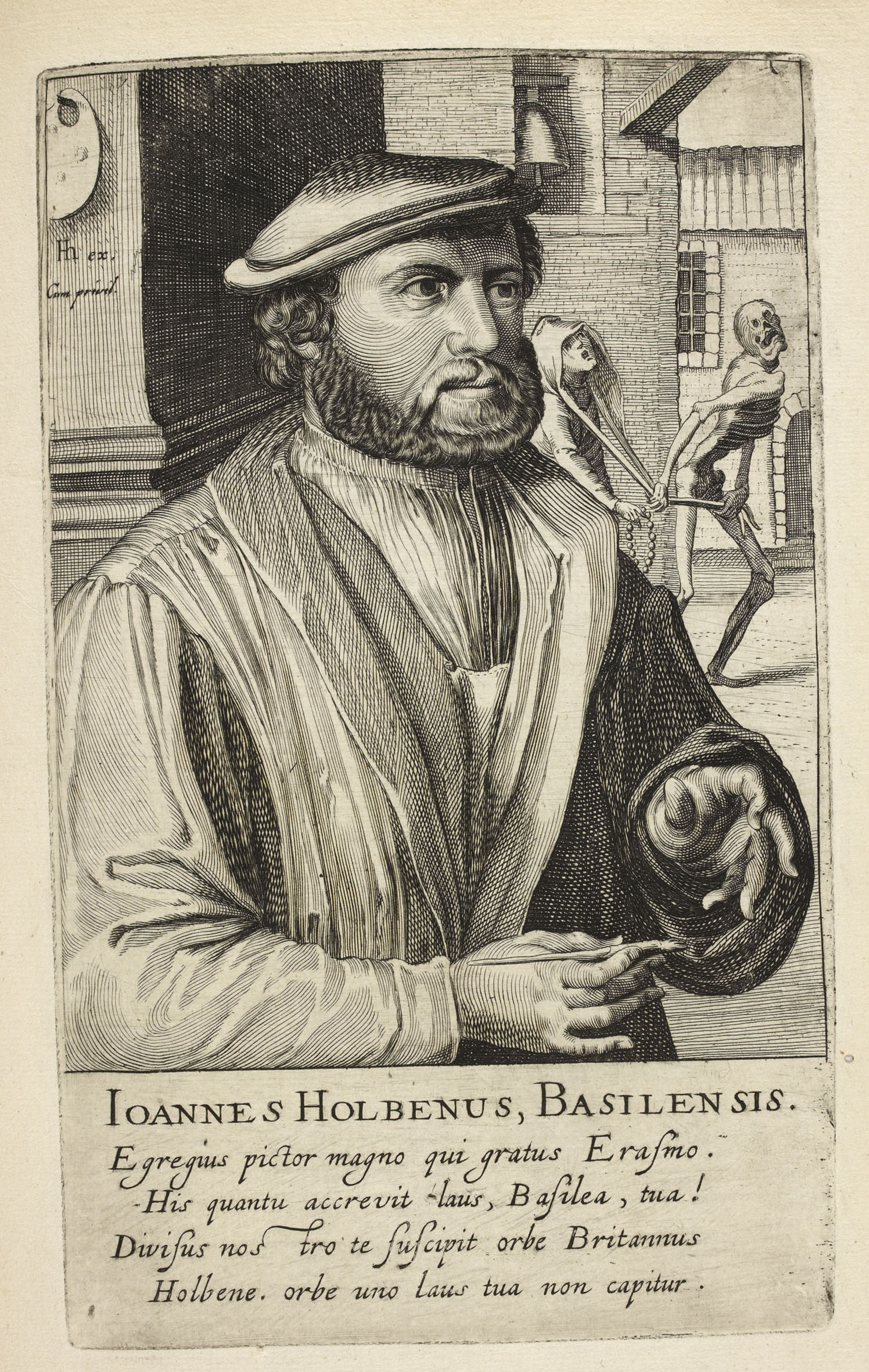 Holbein by Hondius