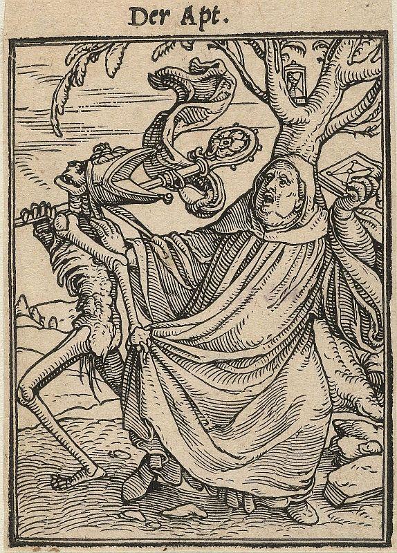 Hans Freckenberg Holbein: Der Apt.