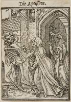 Holbein Proofs 1526: Abbess