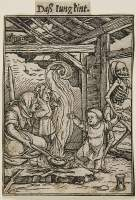 Holbein Proofs 1526: Child