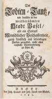 Scharffenberg 1649: Front page, 1769