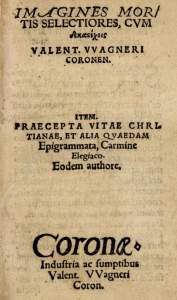 Wagner, Titlepage