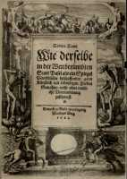Front page of the 1621-edition