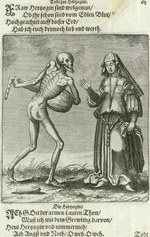 Basel's dance of death, The duchess