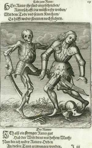 Basel's dance of death, The knight