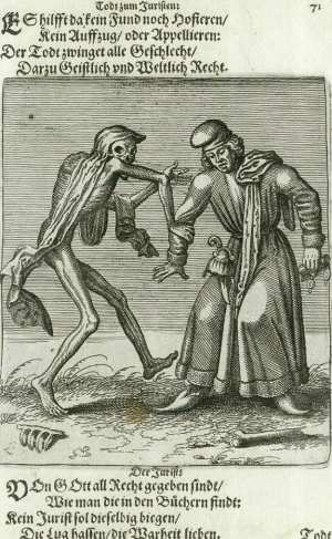 Basel's dance of death, The Lawyer
