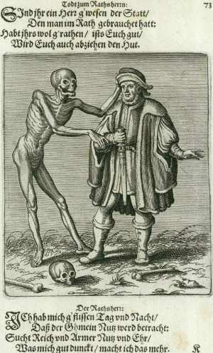 Basel's dance of death, The councilman