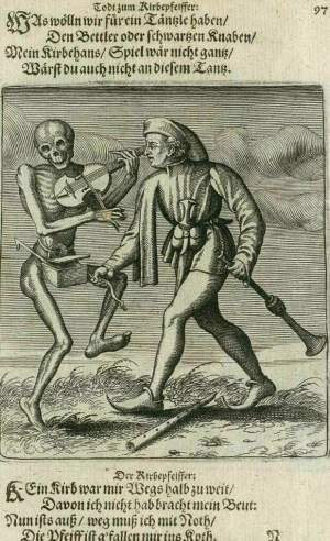 Basel's dance of death, The musician