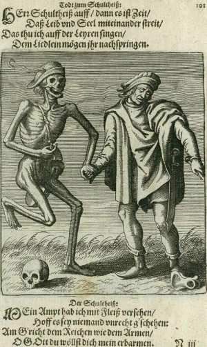 Basel's dance of death, The mayor