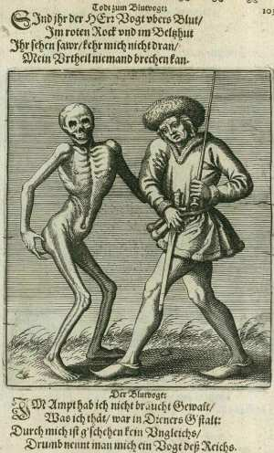 Basel's dance of death, The executioner