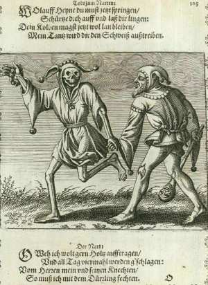 Basel's dance of death, The fool