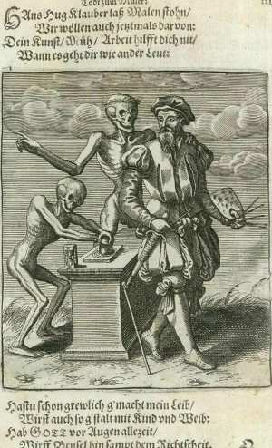 Basel's dance of death, The painter