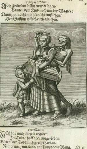 Basel's dance of death, Mother and child