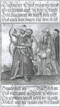 Basel's dance of death, Turk