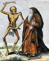 Basel's dance of death: Hermit
