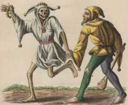 Basel's dance of death: The fool