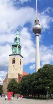 The Church of St. Mary in Berlin
