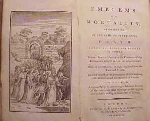 Bewick, emblems of mortality