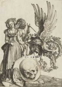 The escutcheon of Death by Albrecht D�rer