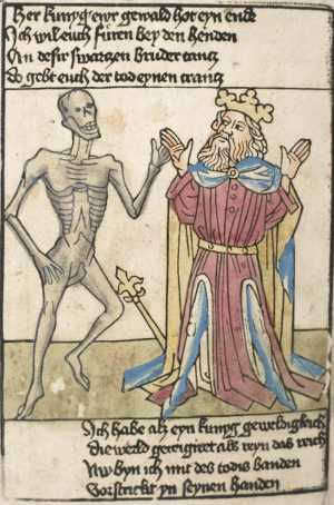 Heidelberg's dance of death, King