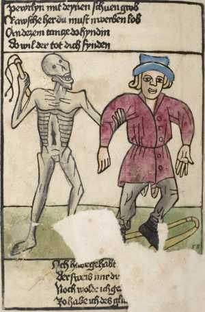 Heidelberg's dance of death, Peasant