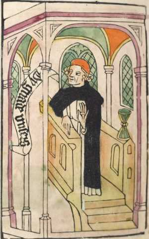Heidelberg's dance of death, Preacher