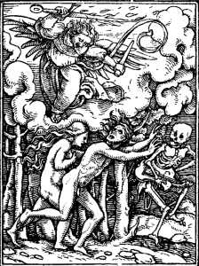 Holbein's Imagines Mortis: The Expulsion
