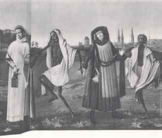 L�beck's dance of death, Carthusian and mayor