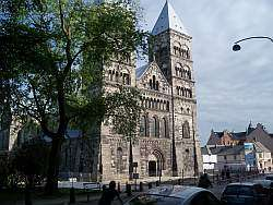 The cathedral in Lund