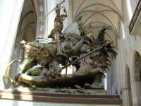 Saint George & the Dragon in L�beck